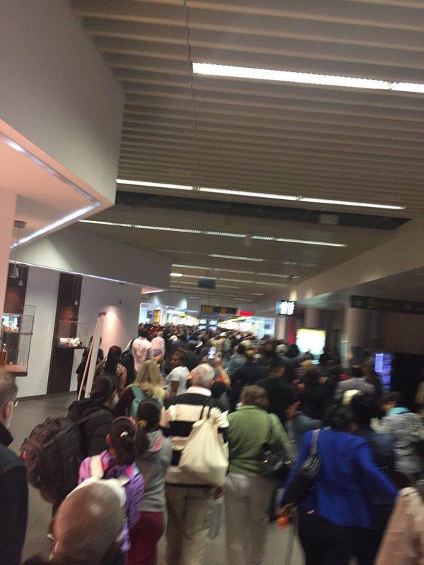 انفجار تروریستی در فرودگاه بروکسل + تصاویر