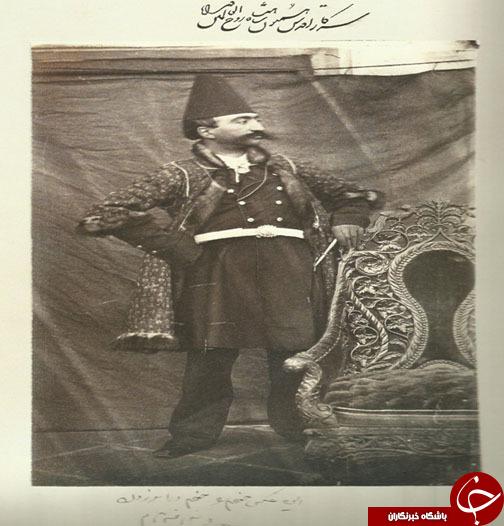عکسی که ناصرالدین شاه از خودش گرفت
