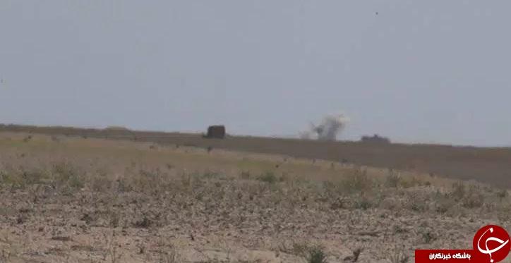 هِوی: حمله داعش به نیروهای عراقی با موشک های روسی+ تصاویر