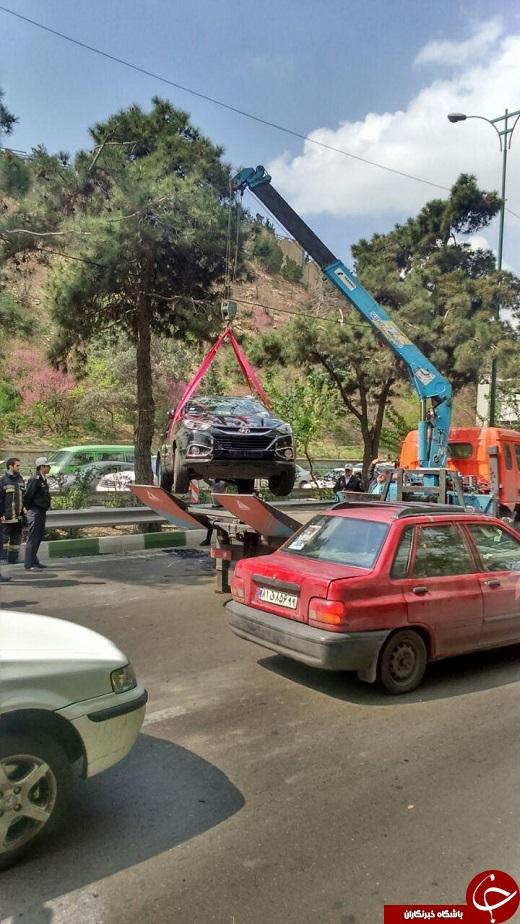 هیوندا، با سقف به پارکوی رسید + تصاویر