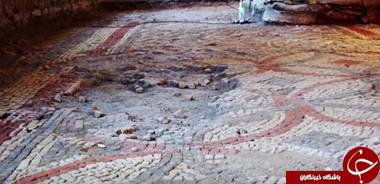 کشف ویلای مربوط به دوران امپراطوری رم به طور اتفاقی + تصاویر