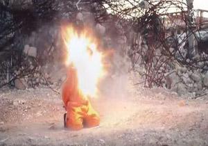 اعدام هولناک 8 عراقی توسط داعش + تصاویر