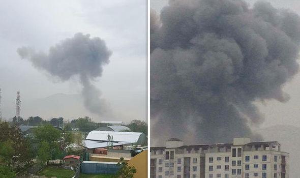 انفجار نزدیک سفارت آمریکا در کابل