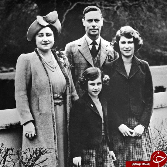 90 سال زندگی ملکه انگلیس در تصاویر
