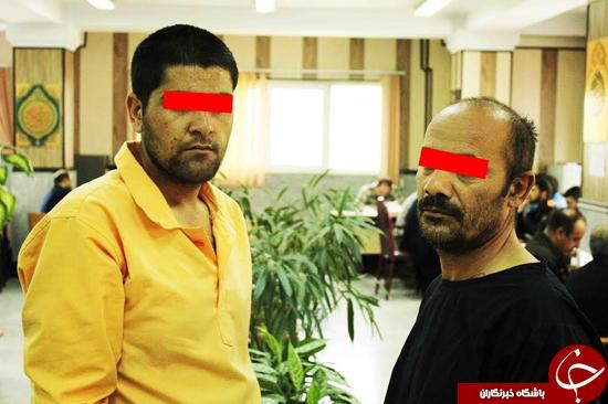 جنایت شوم دو افغان بیرحم در اتوبان خلیج فارس +جزییات و تصاویر