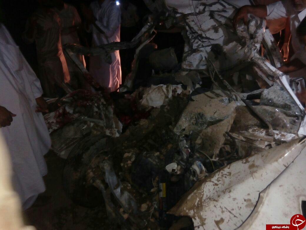 برخورد مرگبار پراید با شتر در ایرانشهر