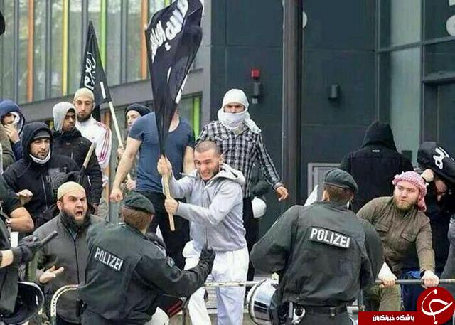 کشف پرچم داعش و یک بمب از خانه تروریست بروکسل + تصاویر