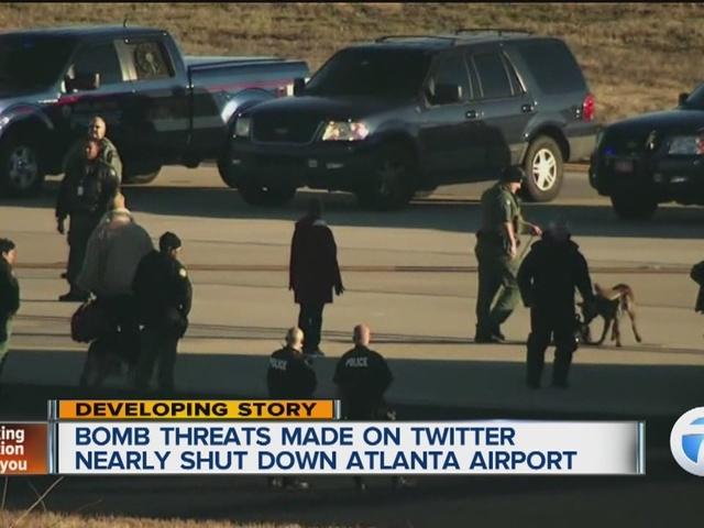 تخلیه فرودگاه آتلانتای آمریکا پس از شنیده شدن صدای تیراندازی