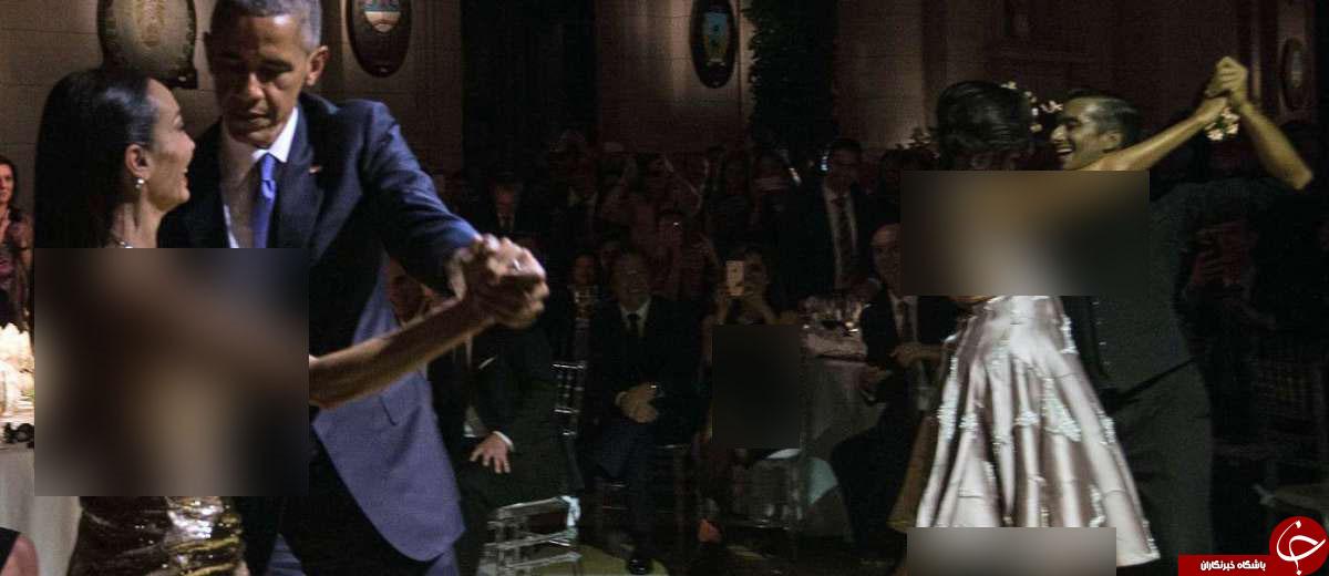 عراق، سوریه و یمن میگریند؛ اوباما و همسرش در آرژانتین تانگو میرقصند+تصویر