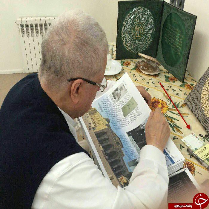 اسکناس های عیدی روی میز آیت الله هاشمی رفسنجانی +عکس