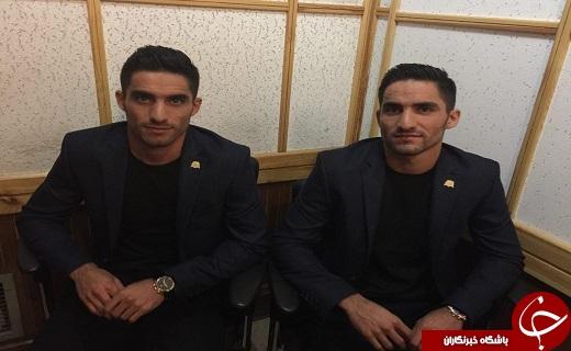 برادران فوتبالی از قهر تا آشتی کنان جنجالی