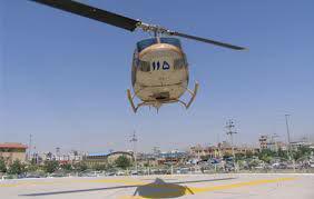 سقوط بالگرد اورژانس در استان فارس/ اعزام دو تیم امداد و نجات