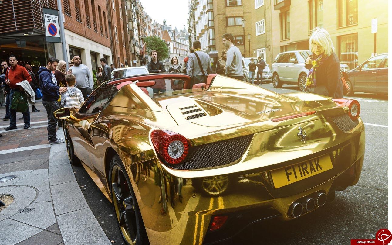 قیمت ماشین طلا