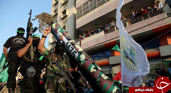 انهدام پادگانهای اسرائیل با موشک