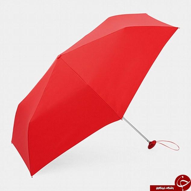 چتری متفاوت مخصوص دارندگان تلفن همراه و دوربین + تصاویر