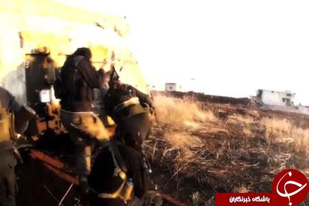 یک داعشی لحظه هلاکت خود و دوستانش را در نبرد با ارتش سوریه ثبت کرد+ تصاویر
