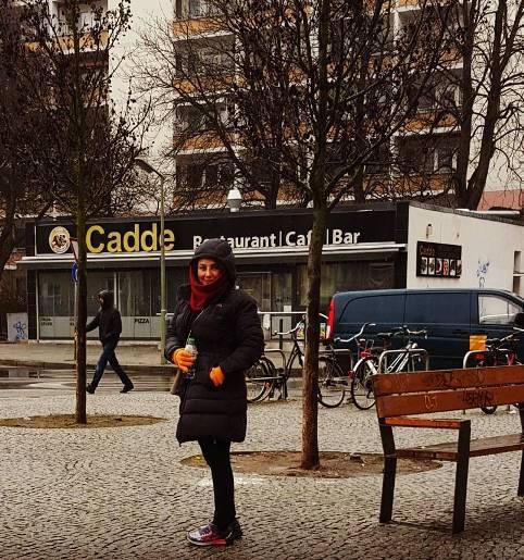 تیپ جالب بهنوش بختیاری در آلمان+ عکس