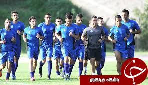 خوش وبش استقلالی ها با نارنجی پوشان در تمرین امروز شاگردان مظلومی