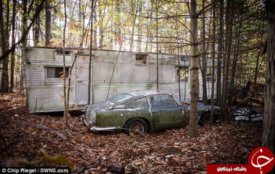 خودروی در حال پوسیدن برای فروش +تصاویر