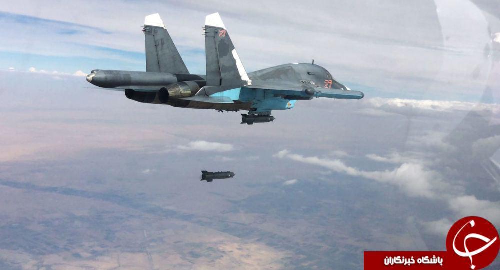 کارنامه درخشان سوخوهای روسیه در سوریه + تصاویر