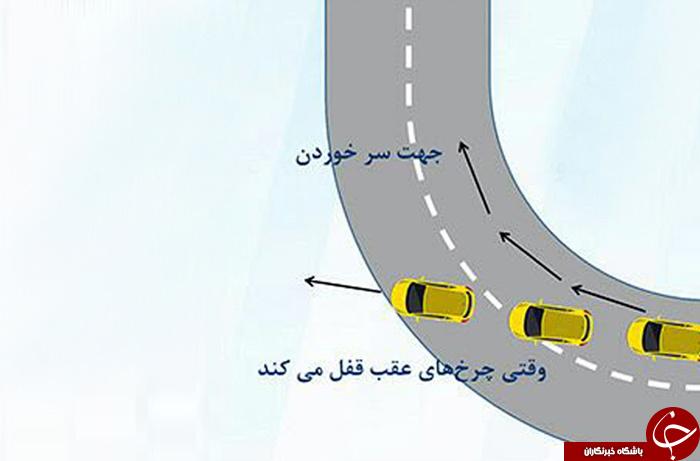چگونه خودرو را موقع سُرخوردن کنترل کنيم؟