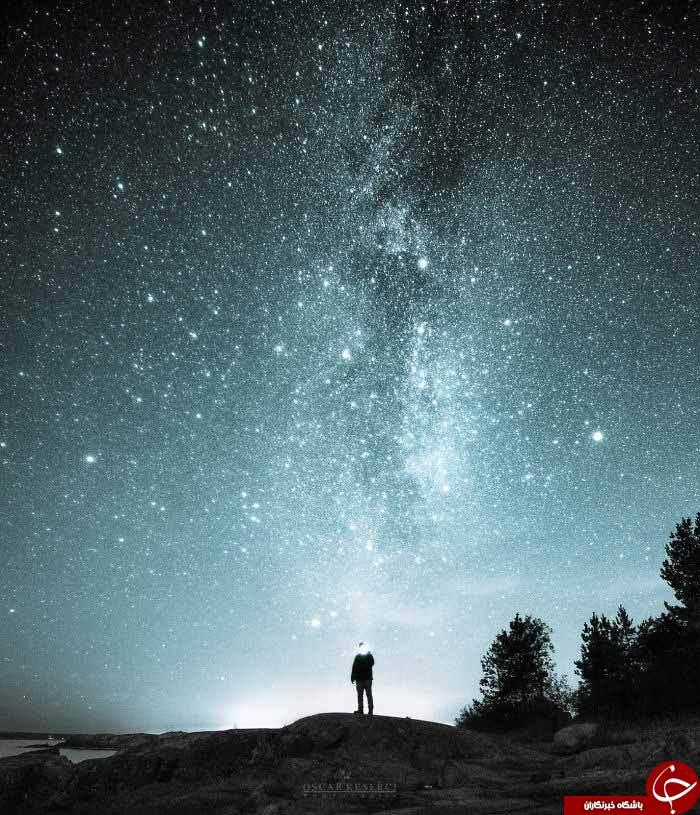 زیبایی شبهای ستاره باران+تصاویر