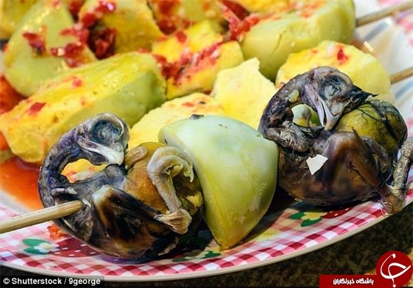 عجیبترین غذاهای سراسر جهان + تصاویر