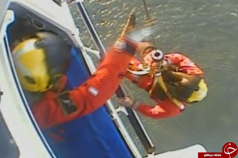 ماهیگیر 60 ساله بطور معجزه آسایی از مرگ نجات یافت+ تصاویر