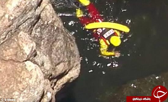 جنازه پسر 19 ساله از آب بیرون کشیده شد +تصاویر