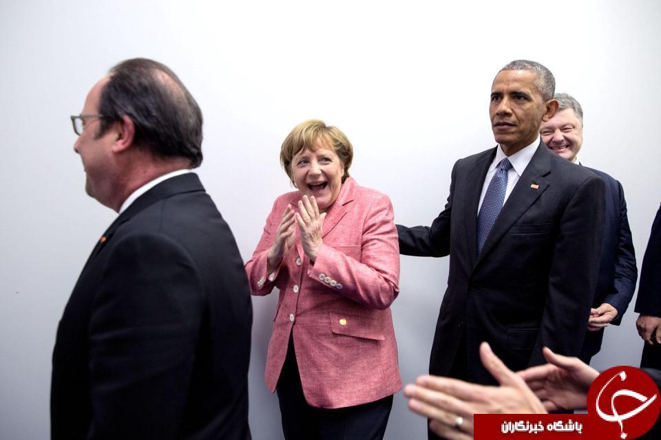 تاپ ترین تصاویر دوران ریاست جمهوری باراک اوباما در کاخ سفید