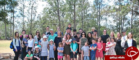 ملاقات دو خانواده بزرگ جهان +تصاویر