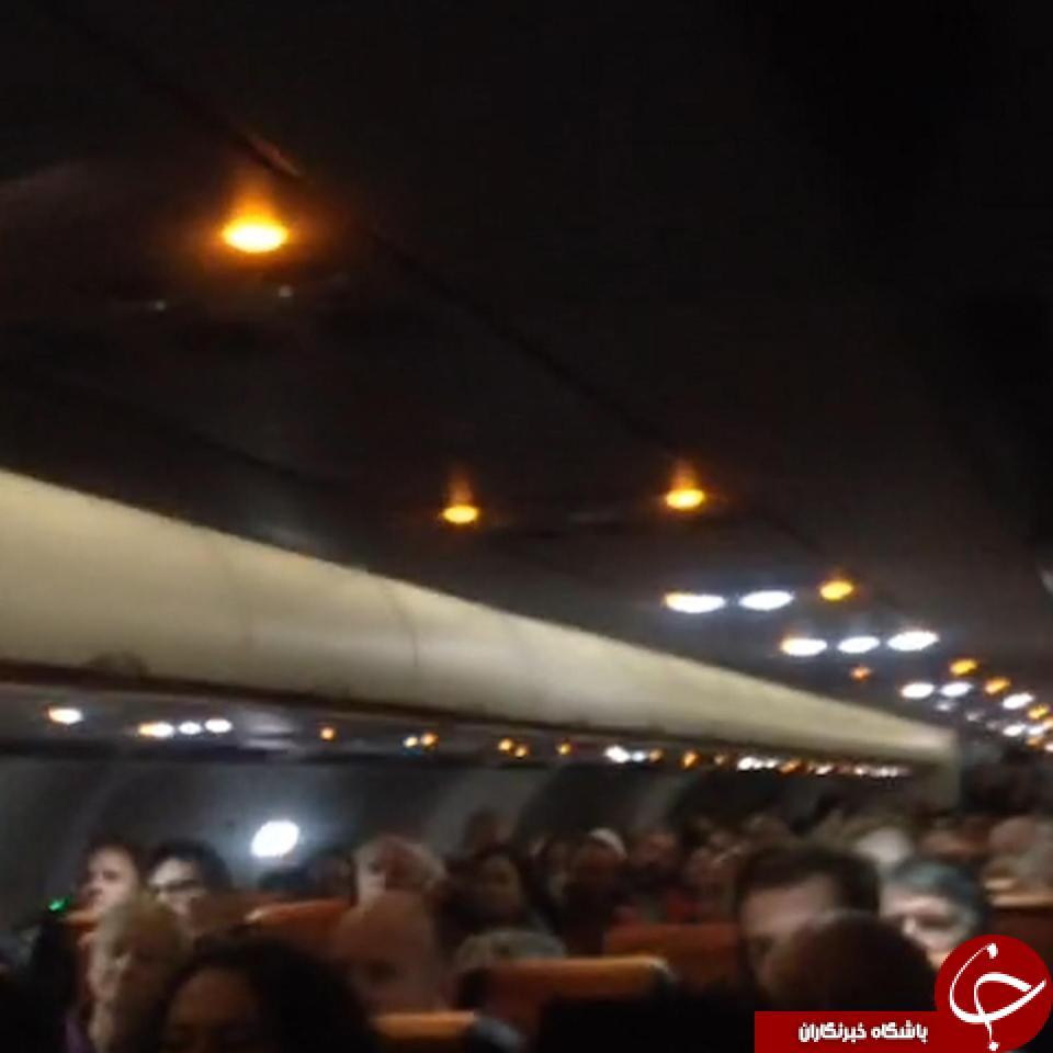 مسافر مست باعث فرود اضطراری هواپیما شد+ تصاویر