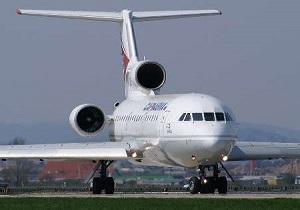 یک فروند هواپیما در فرودگاه مهرآباد دچار حادثه شد