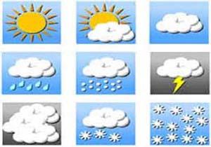 وزش باد و افزایش ابر در کرمان