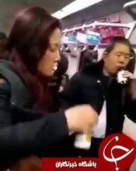 لحظه وحشتناک خودکشی دسته جمعی در متروی پکن+ تصاویر(18+)////////////////در حال تکمیل
