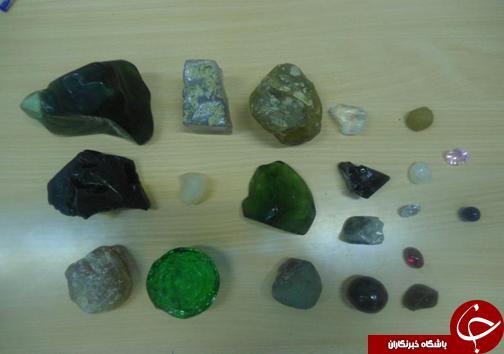 دستگیری سارقان جواهر و الماس 40 میلیاردی +عکس