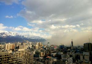 وقتی بادهای معجزهآسا به کمک هوای تهران میآیند + فیلم