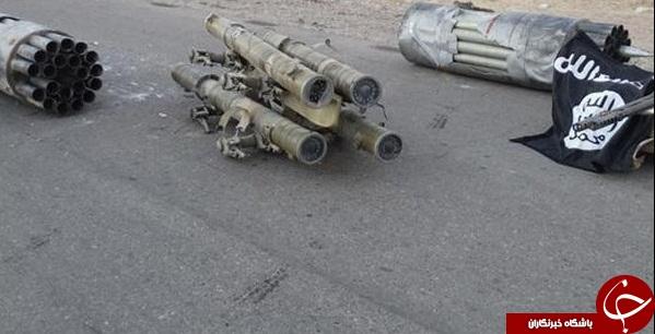 موشک های آمریکایی بر دوش تروریست های ارتش آزاد + تصاویر