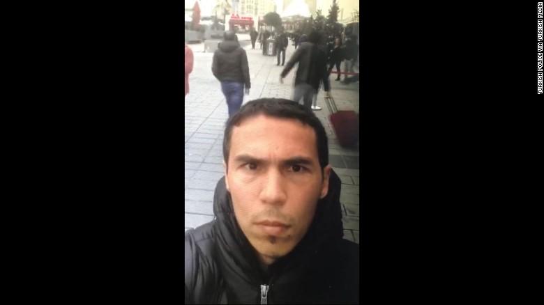 بازداشت اعضای خانواده عامل حمله استانبول+ تصویر مظنون