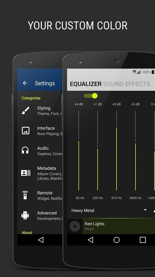 دانلود BlackPlayer EX برای اندروید /  جذابترین پخش کننده موسیقی اندرویدی