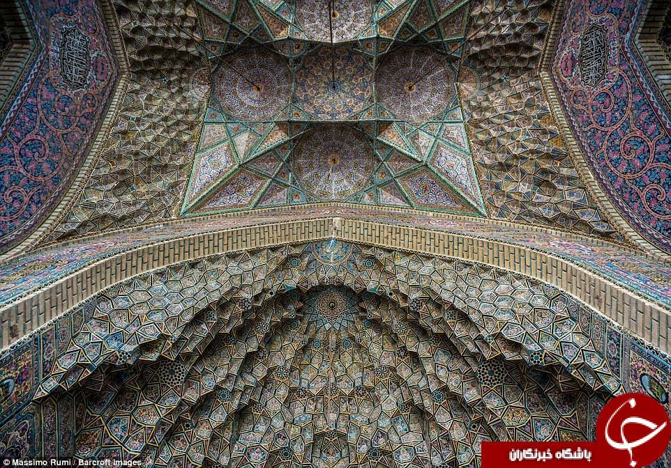 معماری بناهای اسلامی ایران، حیرت عکاس ایتالیایی را برانگیخت+ تصاویر
