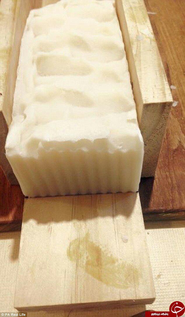 تولید صابونی با طعم شیر مادر+ تصاویر