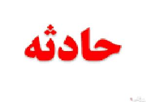 واژگونی مرگبار کامیون بنز در جاده اصفهان - قم