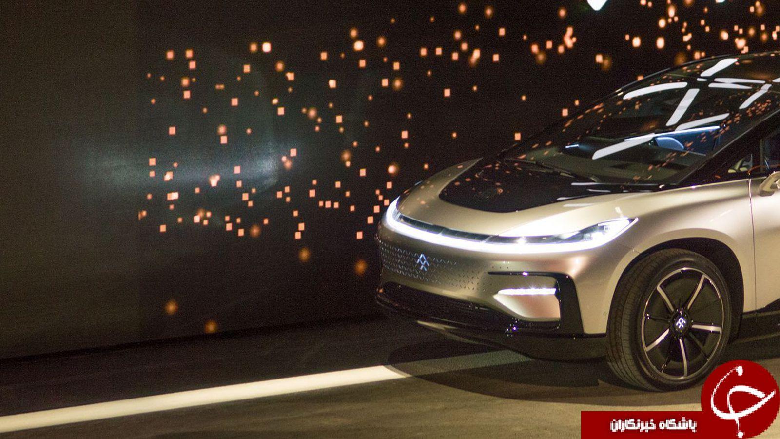 پرسرعت ترين خودروي الکتريکي جهان رونمايي شد+تصاوير