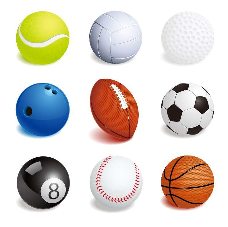 نتیجه تصویری برای انواع توپ