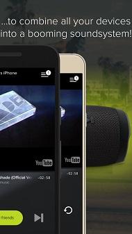 دانلود AmpMe؛ پخش همزمان موزیک در دو گوشی