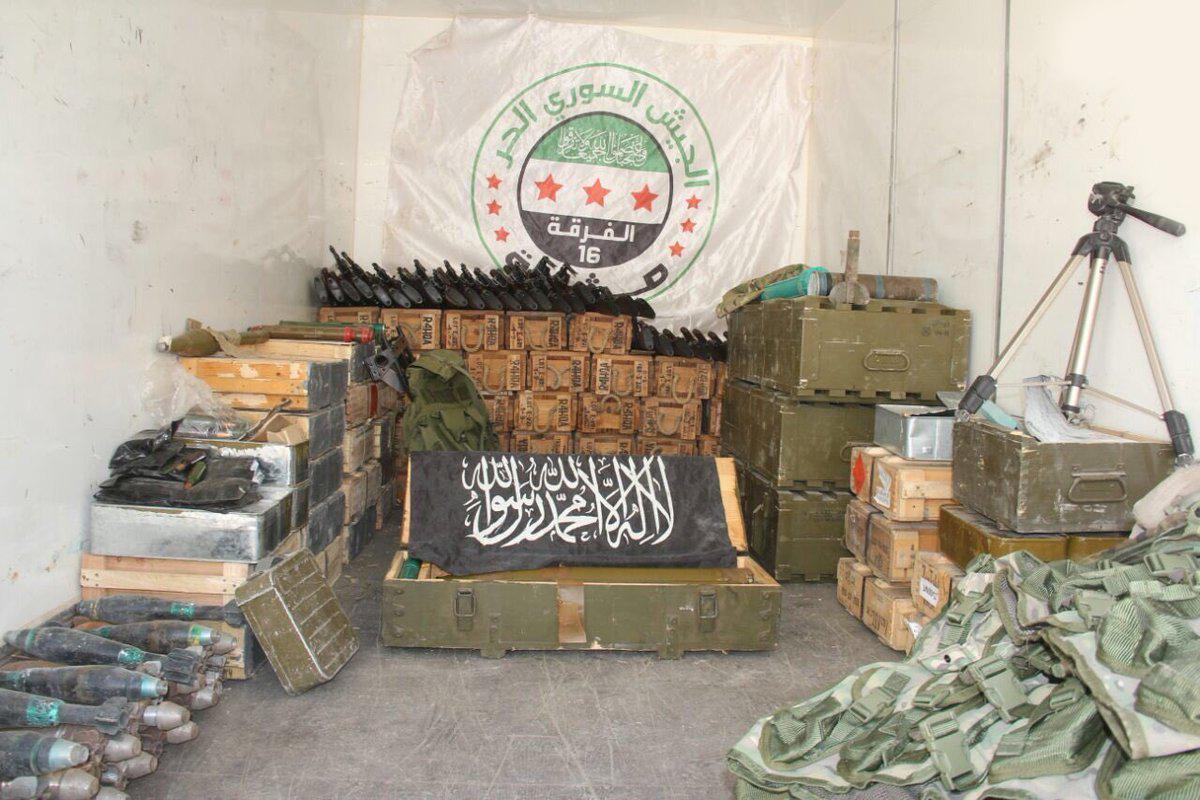 مسیرهای اصلی انتقال تسلیحات تروریستها در سوریه کدامند؟ + اسناد