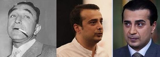 بازیگران معمای شاه قبل و بعد از گریم + عکس