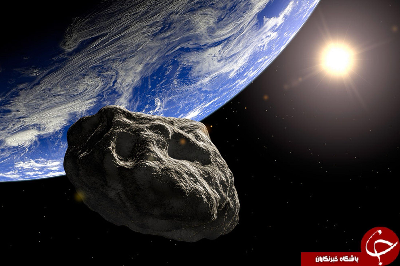 دو سنگ فضایی با سرعت زیاد به زمین نزدیک می شوند+ عکس