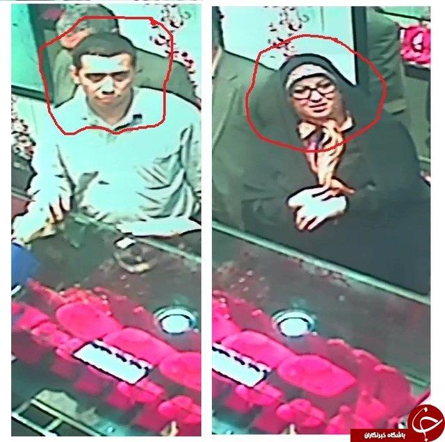 زن و مرد طلا دزد را شناسایی کنید +عکس